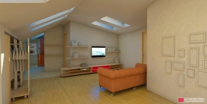 apartament 1 - render 1