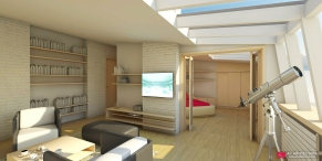 apartament 2 - render 1