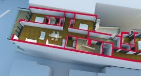 CP5 - concept 2 ETAJ 4 - render 2
