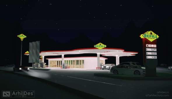 benzinarie concept 1 de noapte - 1