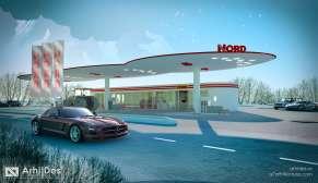 benzinarie moiesei concept 2 - 19.5 - render 2