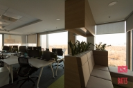 open office and relax area