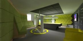 tudor game room - render 1