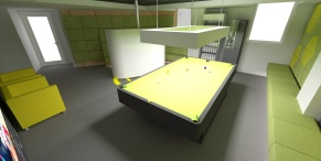 tudor game room - render 4