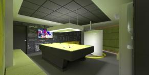 tudor game room - render 8