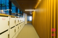 lockers area in office deisgn
