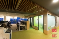 meeting rooms and open space