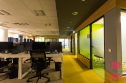 open space office and meeting rooms