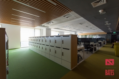 lockers design in office design