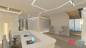 thales office reception design
