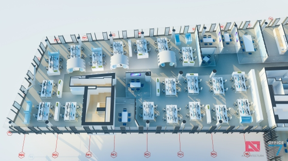 thales interior office concept