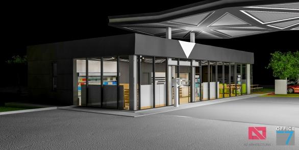 proiect benzinarie design