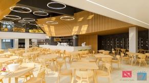 restaurant design in sinaia